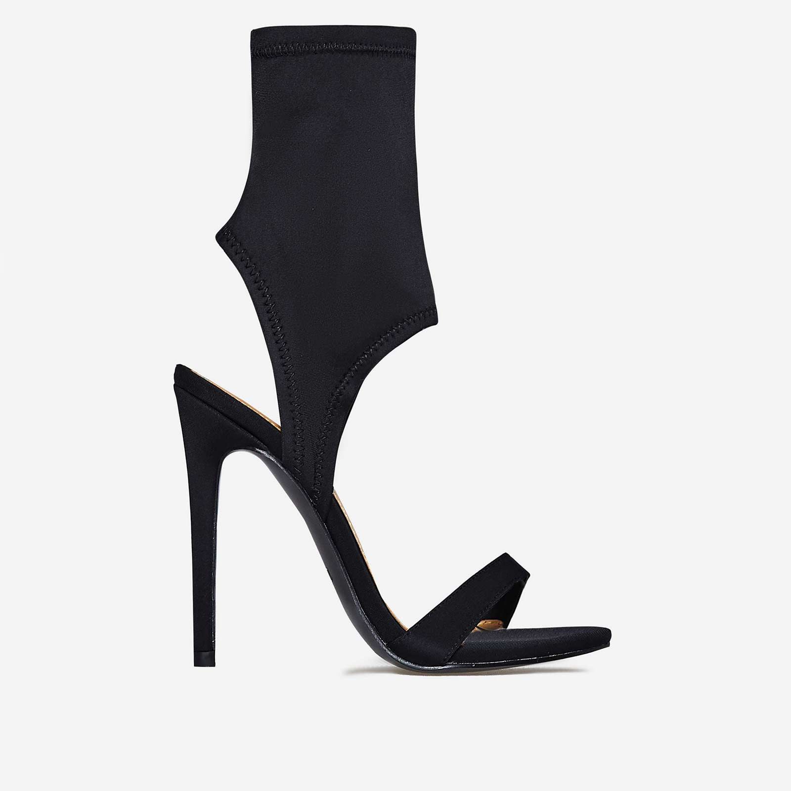 Glenn Cuff Heel In Black Lycra