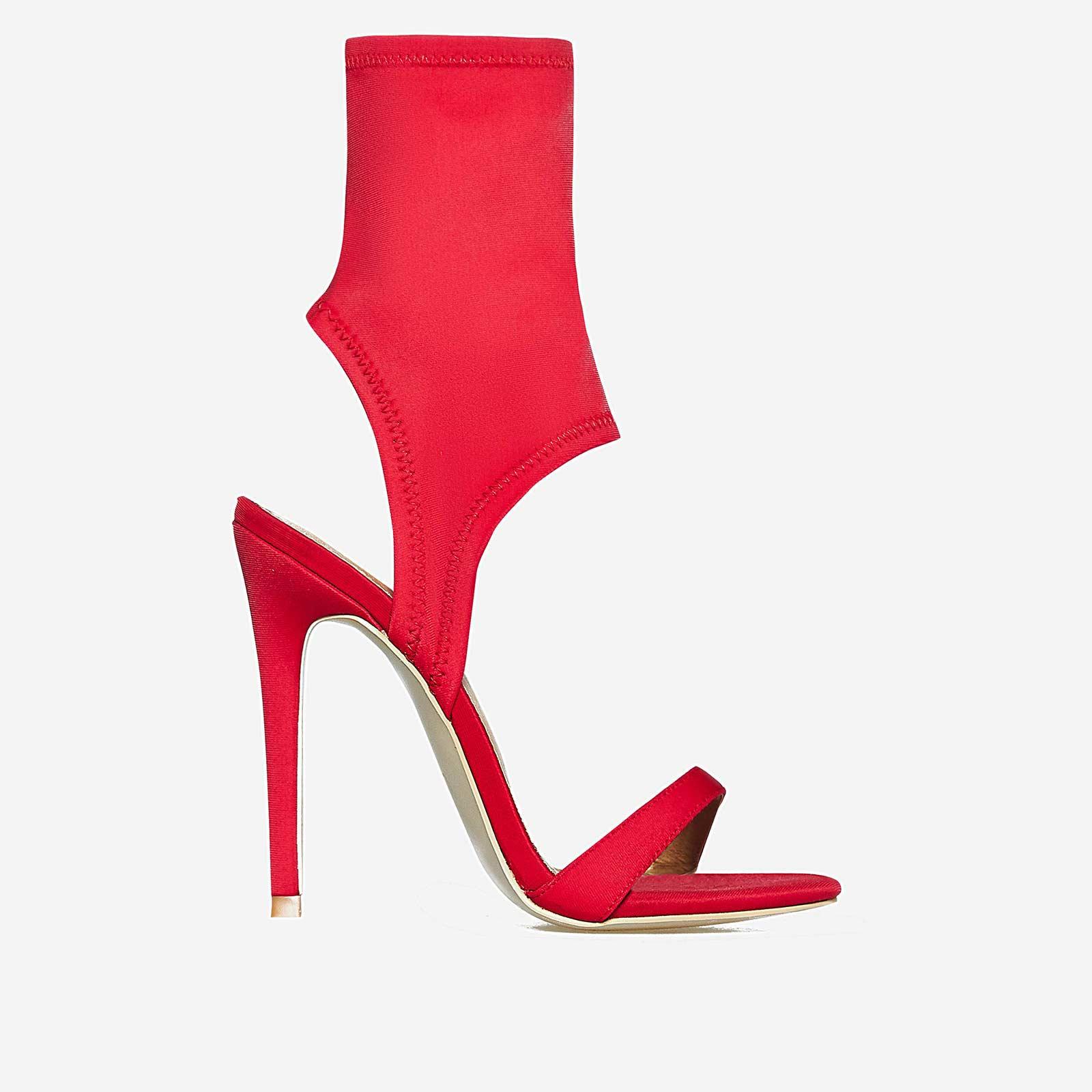 Glenn Cuff Heel In Red Lycra