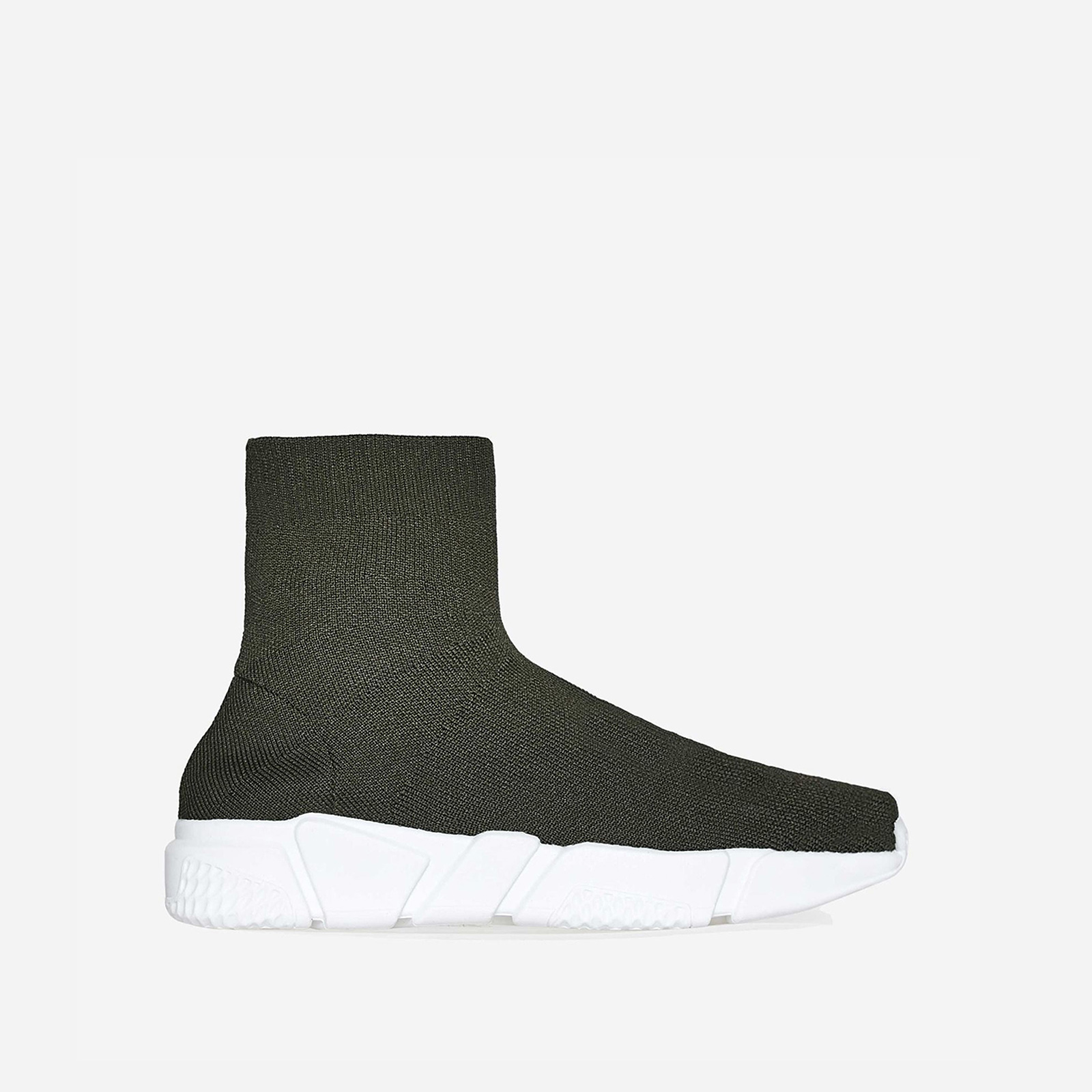Mercury Ankle Trainer In Green Knit
