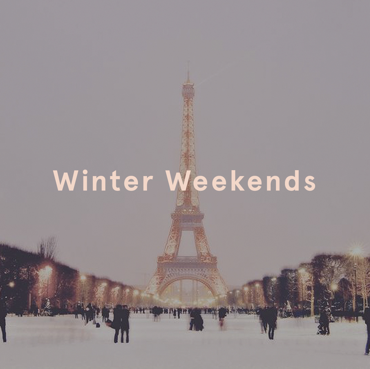 Winter Breaks Ego European Weekends Paris Eiffel Tower