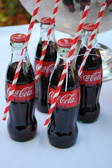Coca Cola drinks in pretty bottles